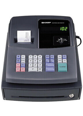 Sharp Electronic Cash Register XE A106 with key LED Display