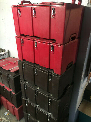 Cambro Style Food Storage Containers No Inserts Catering Transport