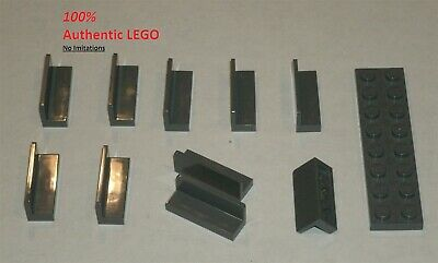 6100030 Brick 18654 LEGO NEW 1x1 Dark Stone Grey Beam 10x