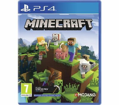 PS4 Minecraft Bedrock PlayStation 4 Game Online Multiplayer - Currys
