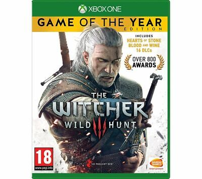 XBOX ONE The Witcher 3: Wild Hunt - Game of the Year Edition - Currys