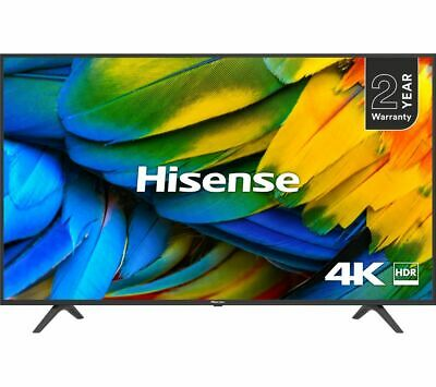 "HISENSE H43B7100UK 43"" Smart 4K Ultra HD HDR LED TV Freeview Play - Currys"