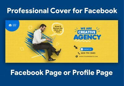 I Will Design Your Cover for Facebook Page