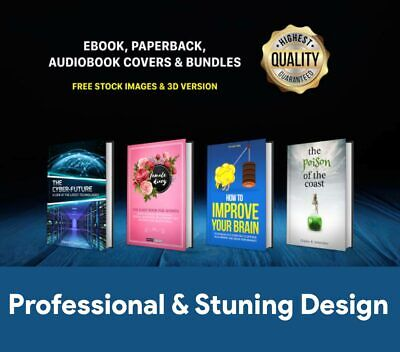 Design Cover high-quality E BOOK, PAPERBACK & AUDIOBOOK COVER that stands out