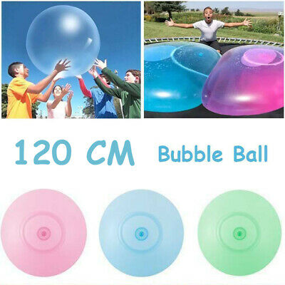 120CM Wubble Bubble Ball Super Inflatable Antistress Outdoor Water Ballons Toys