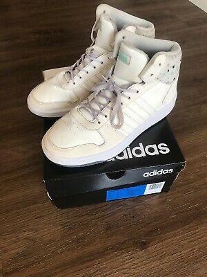 Girls Ladies Adidas Hoops Mid 2.0 UK 5 High Tops Basketball Trainers