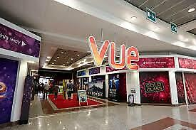 6 x Vue Cinema Tickets