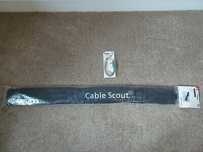 HellermannTyton 897-90001 CS-SD Cable Scout Deluxe Set & 897-90026 Cable Grips