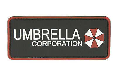 Airsoft morale patch 3D  PVC UMBRELA CORPORATION   hook and loop