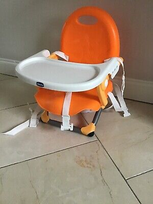 Chicco Snack booster seat Orange from 6 Months+