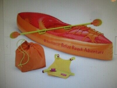 2006 American Girl Doll Jess Retired Kayak and Gear Oar Paddle ONLY
