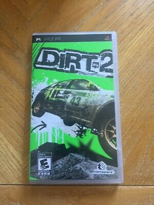Dirt 2  ( PSP Sony Playstation Portable ) Tested!!