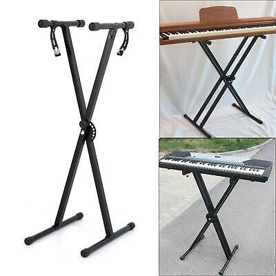 X Frame Portable Heavy Duty Folding Adjustable Keyboard Piano Stand Fashion UK