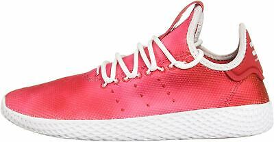 Kids Adidas Girls pw Low Top Lace Up, Scarlet/White/White,  Size Big Kid 6.5
