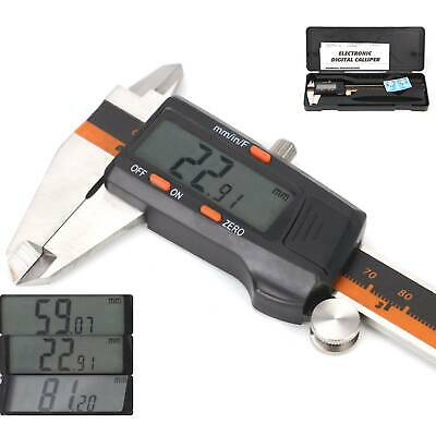 "Professional 150mm (6"") LCD Display Digital Vernier Caliper Gauge Precision Tool"