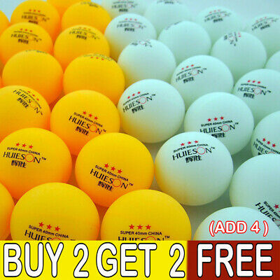 10X Professional 40mm 3 Stars Table Tennis Ball Ping Pong Training Balls SportLE