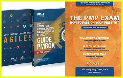 PMBOK PMI Guide 6th Edition 2018 And Agile Practice Guide And The PMP Exam ✉💻