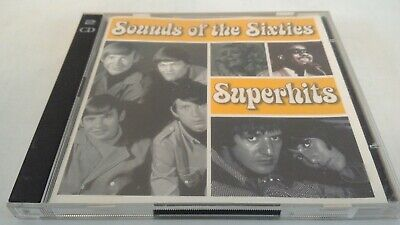 Sounds Of The Sixties - Superhits - EU 2004 Time Life TL SCC/01 Double CD Album