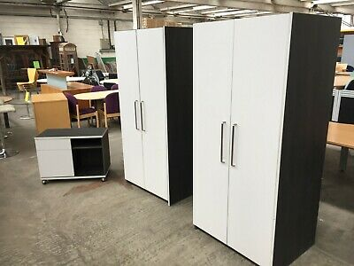 Office Cabinet Set, Lateral Filing Cupboard, Wardrobe, Mobile Storage Unit.