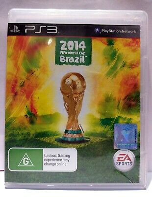2014 FIFA WORLD CUP BRAZIL (ENG+ITA) [Playstation 3 PS3 2013] Usato Garantito J