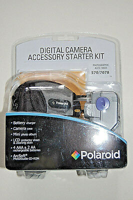 Digital Camera Accessory Kit.Comprehensive.Brand New.Made by Polaroid.Great Gift