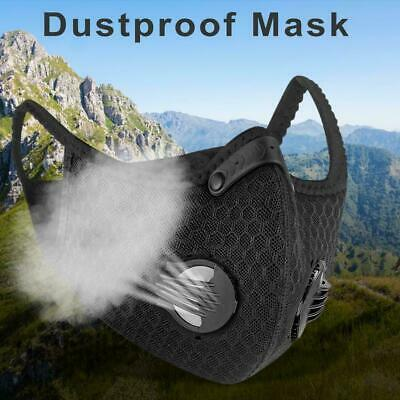 Air Purifying Face Cover Activated Filter Anti Dust Fog Cycling Riding PM2.5 New
