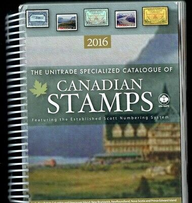 Canada 2016 Unitrade Specialized Catalogue of Canadian Stamps