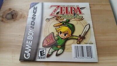 French Manual only - The Legend of Zelda Minish Cap Nintendo Gameboy Advance GBA