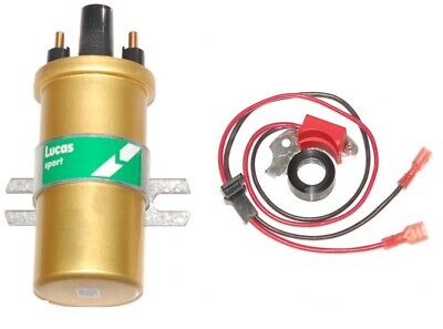 Electronic ignition kit and coil for Bosch Audi Alfa Bmw Ford seat VW 4 cly