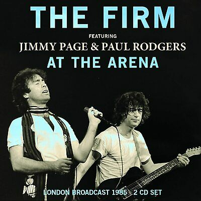 THE FIRM Feat. JIMMY PAGE & PAUL RODGERS 'AT THE ARENA' 2 CD Set (5th June 2020)