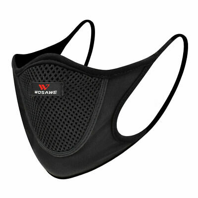 Unisex mouth-muffle washable Cycling protective half face shield Scraf