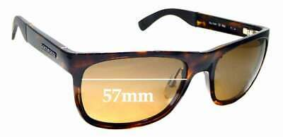 SFX Replacement Sunglass Lenses fits Serengeti 7407 57mm Wide
