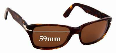SFX Replacement Sunglass Lenses fits Persol 2839S 59mm Wide