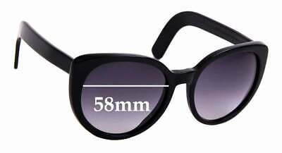 SFX Replacement Sunglass Lenses fits Cutler and Gross M:0734 51mm Wide