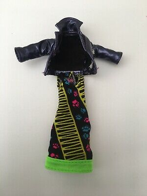 Monster High Doll Howleen Wolf Clothes Spares Jacket,Dress