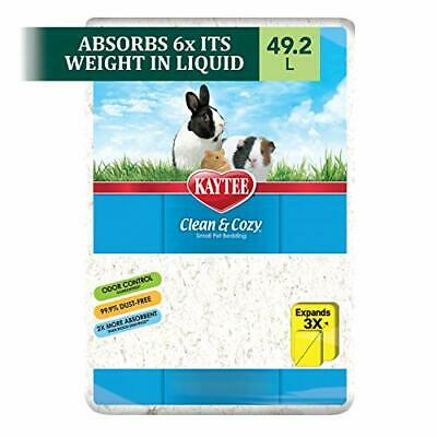 Kaytee Clean and Cozy Super Absorbent Paper Bedding, 49.2 Litre, White