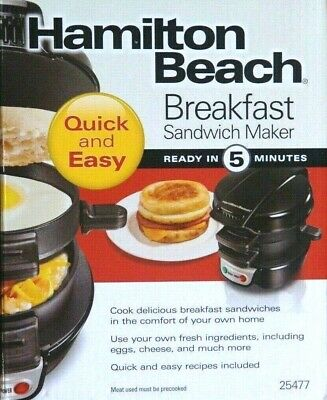 Hamilton Beach Electric Breakfast Sandwich Maker