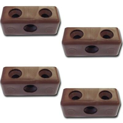 25 X MODESTY MOD BLOCKS BLACK FURNITURE KITCHEN CUPBOARD FIXING JOINT CONNECTOR