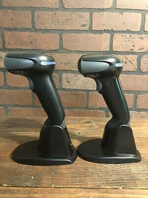 LOT 2 Honeywell Xenon 1900 Barcode Scanner High Density 1900GSR-2-USB2 ratchet