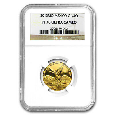 2013 Mexico 1/4 oz Gold Libertad PF-70 NGC - SKU#79770