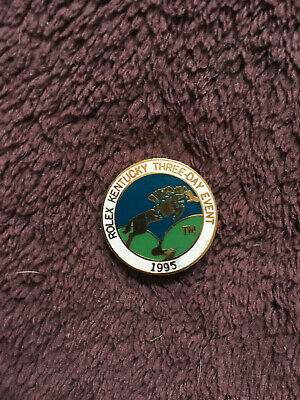Rolex Kentucky Three Day Event Pin 1995-Lexington KY Eventing-Cross Country