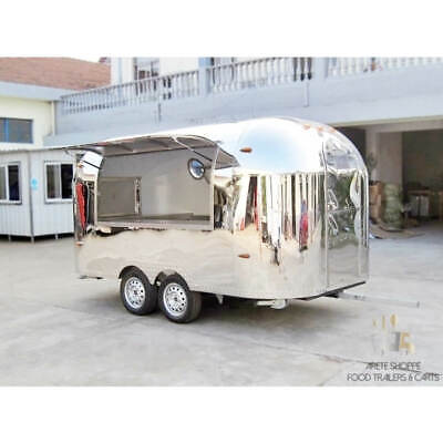 Airstream Custom Concession Food Cart - DOT Certified Food Truck Mobile Trailer