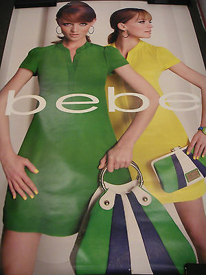 Two Colorful Bebe Store 6 X 4 Feet Advertising Posters