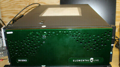 Elemental Live 200 Series Encoders Server