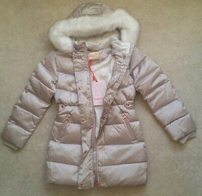 Baker by Ted BakerGirls' Ivory Padded Shower Resistant Coat Age 12 Years