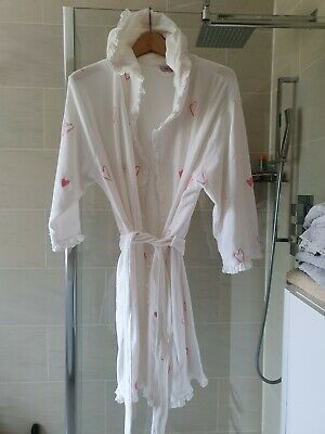 M&S Per Una Dressing Gown with hood - size 16-18