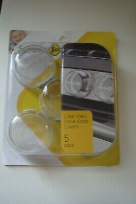 Clear Stove Knob Covers 5 Pack