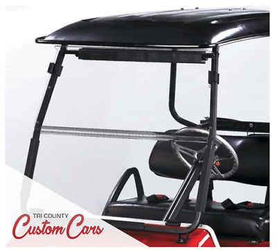 Clear Club Car DS Folding Windshield (Years 2000-Up)