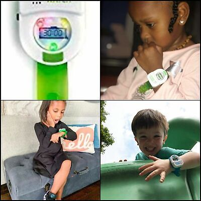 Potty Time Watch Timer Water Resistant Musical Toddler Toilet Training Aid GREEN