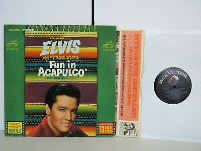Elvis Presley  -  Fun in Acapulco Movie Soundtrack Rock LP - Stereo